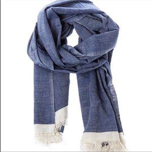 HONEST COMPANY chambray nursing cover/scarf